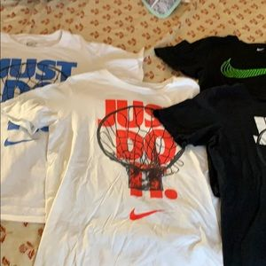 Boys Nike sz L t-shirts ALL 4 for one price